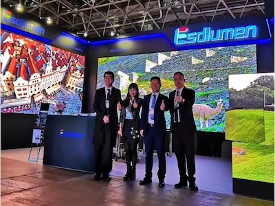 Rental King LED Panel | Eastar Returns to Tokyo Entertainment Equipment Exhibition